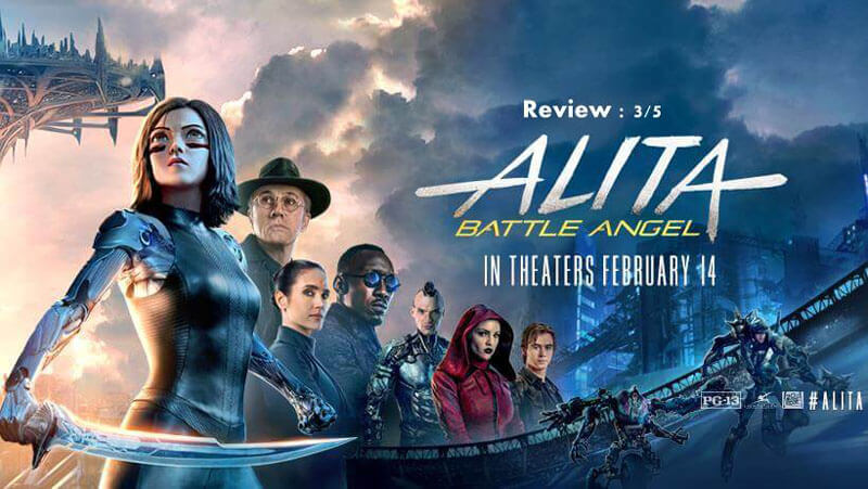 Alita: Battle Angel Review by Abhijith A G|Watchable Movie with 3/5 Ratings