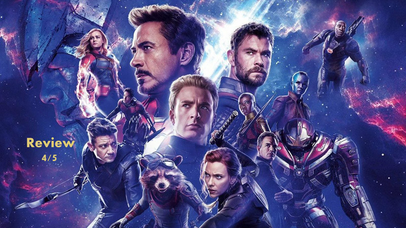 Avengers: Endgame Review  in Malayalam by Abhijith A G
