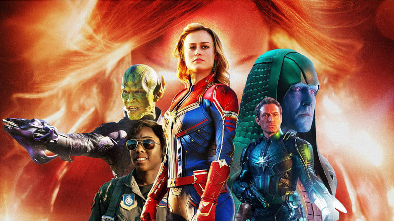 Captain Marvel Review  in Malayalam by Abhijith A G|One Time Watcher Movie with 3/5 Ratings