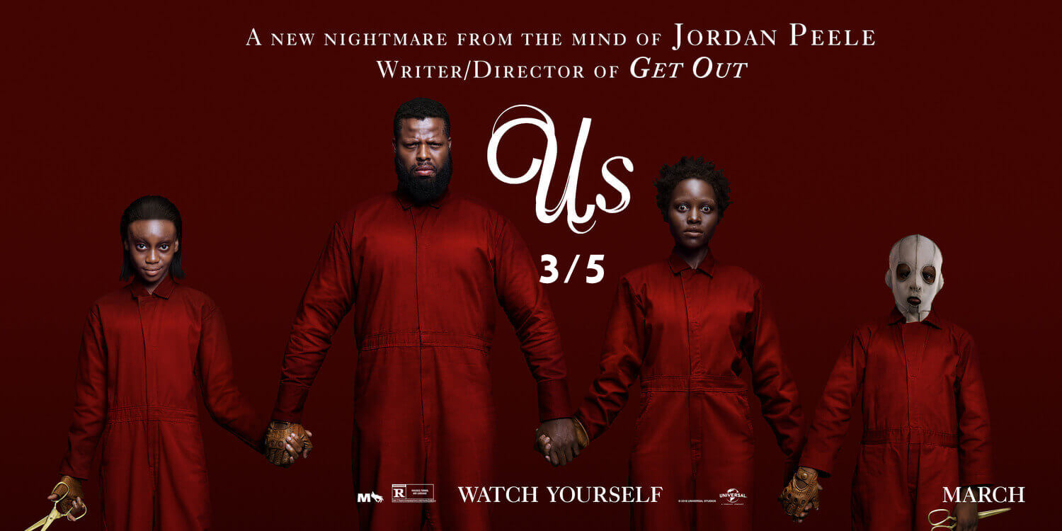 Us (2019 film) Review  in Malayalam by Abhijith A G|Watchable Movie with 3.5/5 Ratings