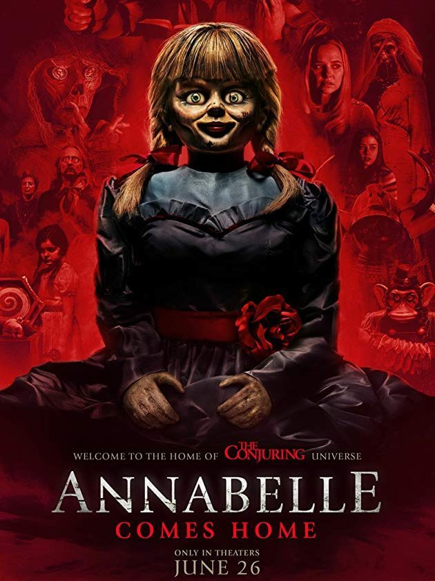 Annabelle Comes Home. Poster