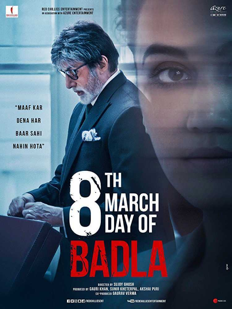 Badla (2019 film) every reviews and ratings