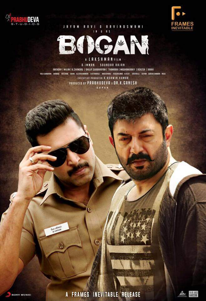Bhaskar oru Rascal is related to Bogan by the same Lead Actor Aravind Swammy