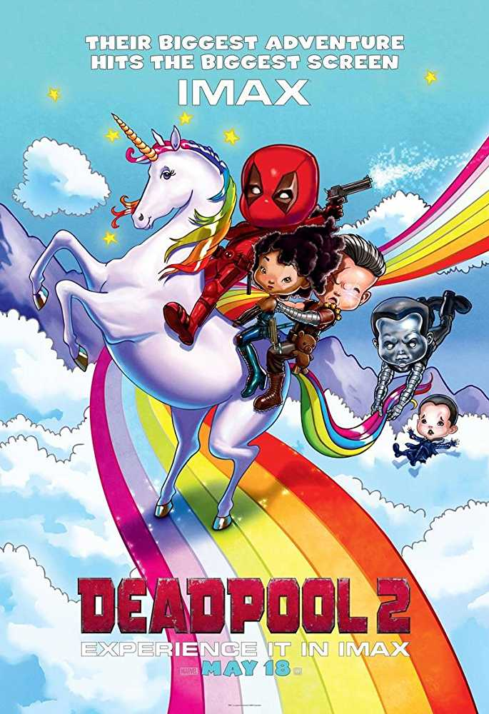 Deadpool 2 Official Poster
