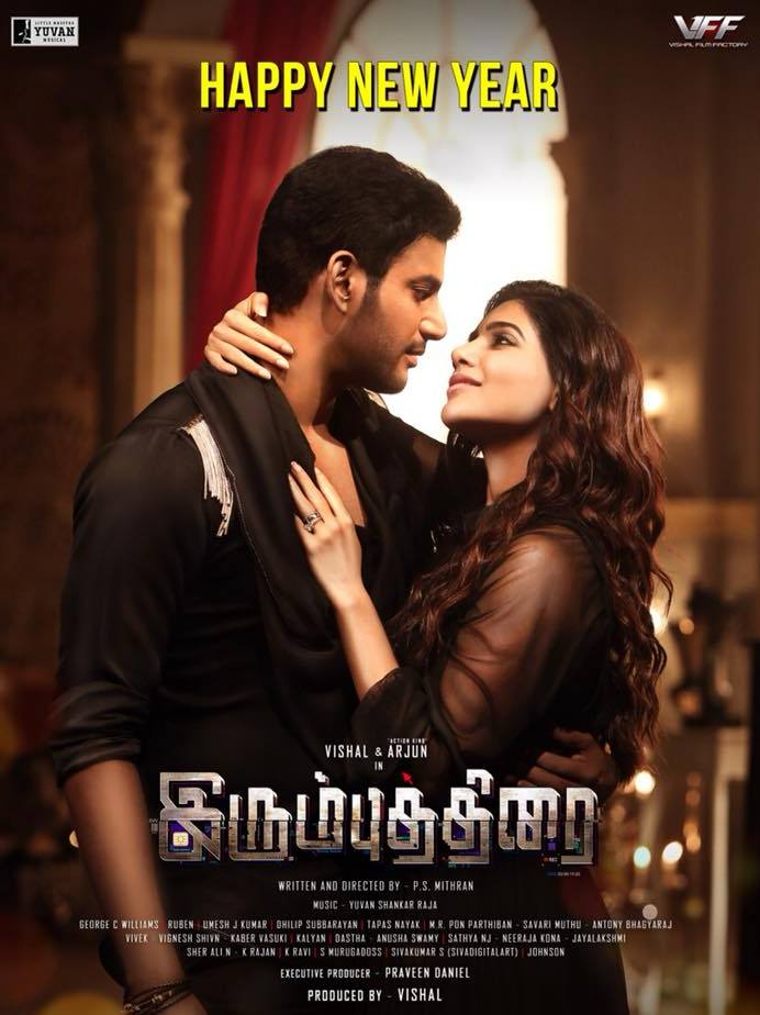 Irumbu Thirai Official Poster