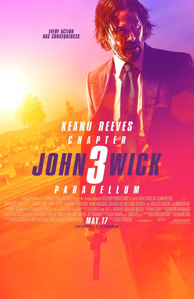 John Wick 3: Parabellum (2018 film) every reviews and ratings