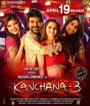 Laxmii and Kanchana 3