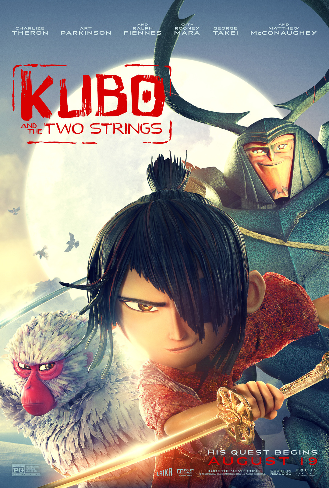 Alita: Battle Angel and Kubo and the Two Strings