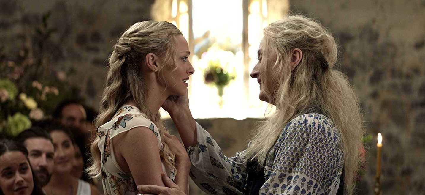 Mamma Mia! Here We Go Again Amanda Seyfried and Meryl Streep