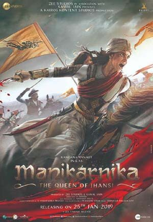 Manikarnika: The Queen of Jhansi,,MohenjoDaro,Padmavath,The Great Wall and Baahubali: The Conclusion