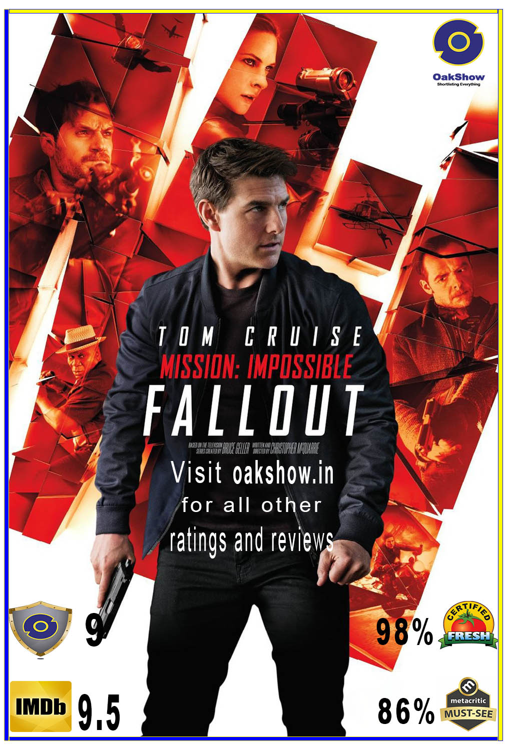 Tenet and Mission: Impossible – Fallout