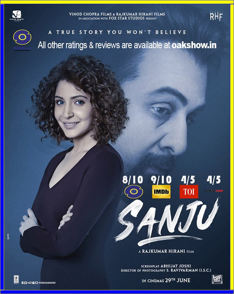 Sanju every reviews and ratings