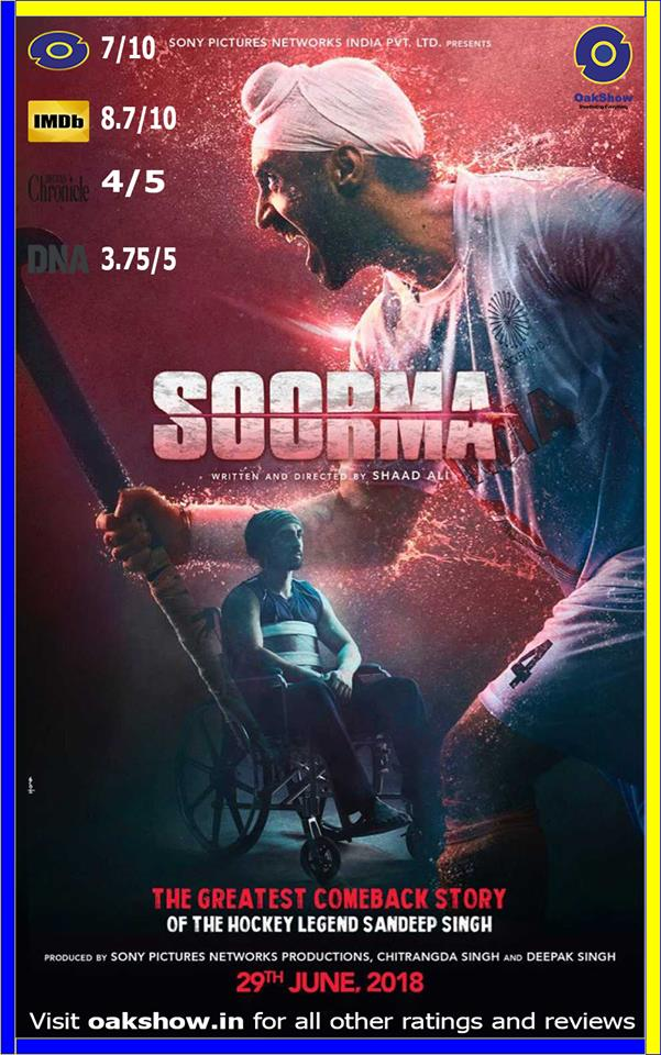 Soorma every reviews and ratings