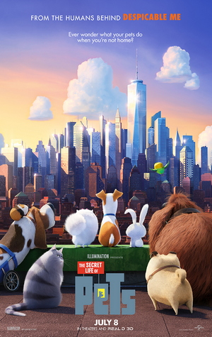 The Art of Racing in the Rain and The Secret Life of Pets