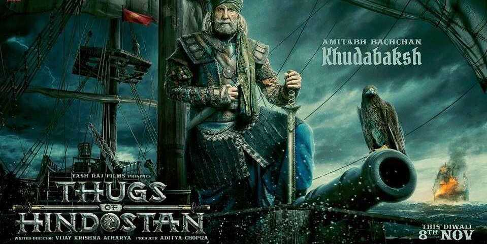 Thugs of Hindostan Amithab Bachan reveiws and ratings