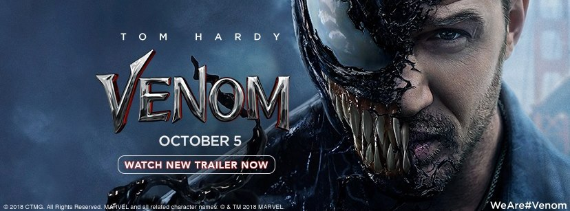 Venom 2018 Film All Ratingsreviewssongsvideostrailers