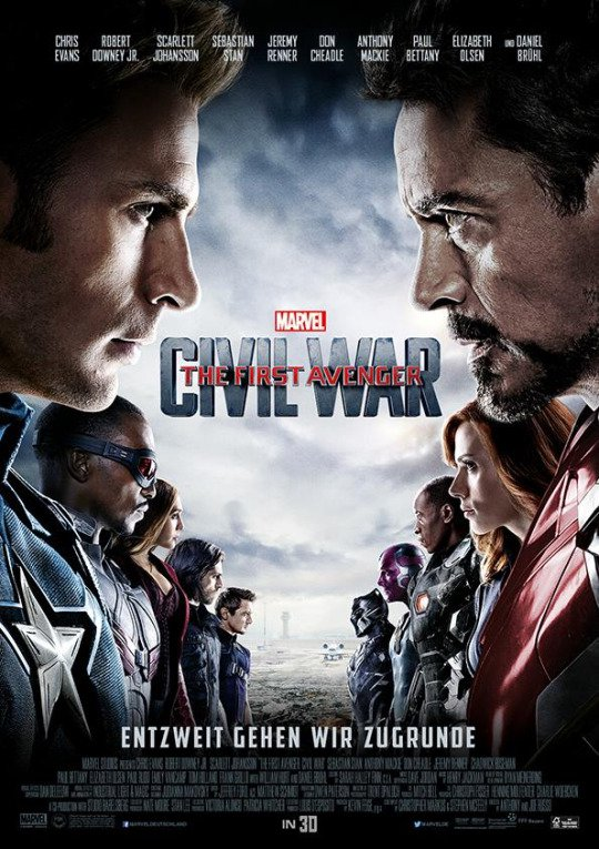 Captain America:Civil War related to Justice League