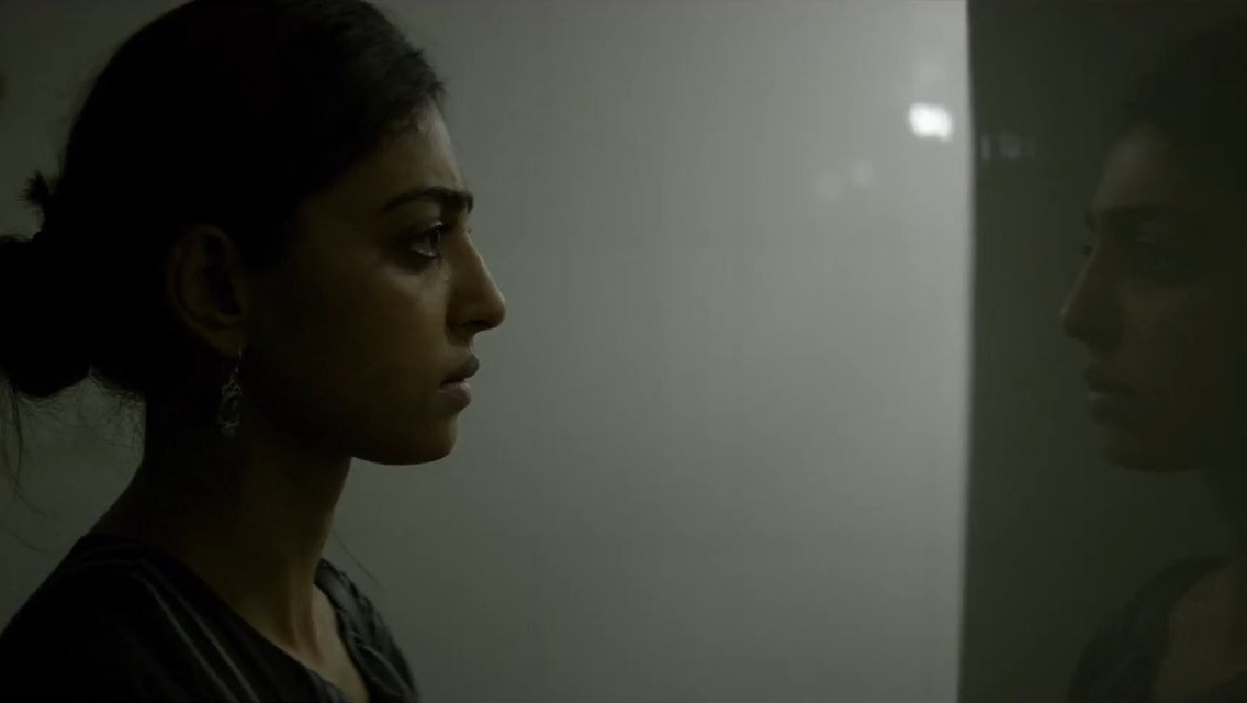 Sacred Games and Radhika Apte as Anjali Mathur