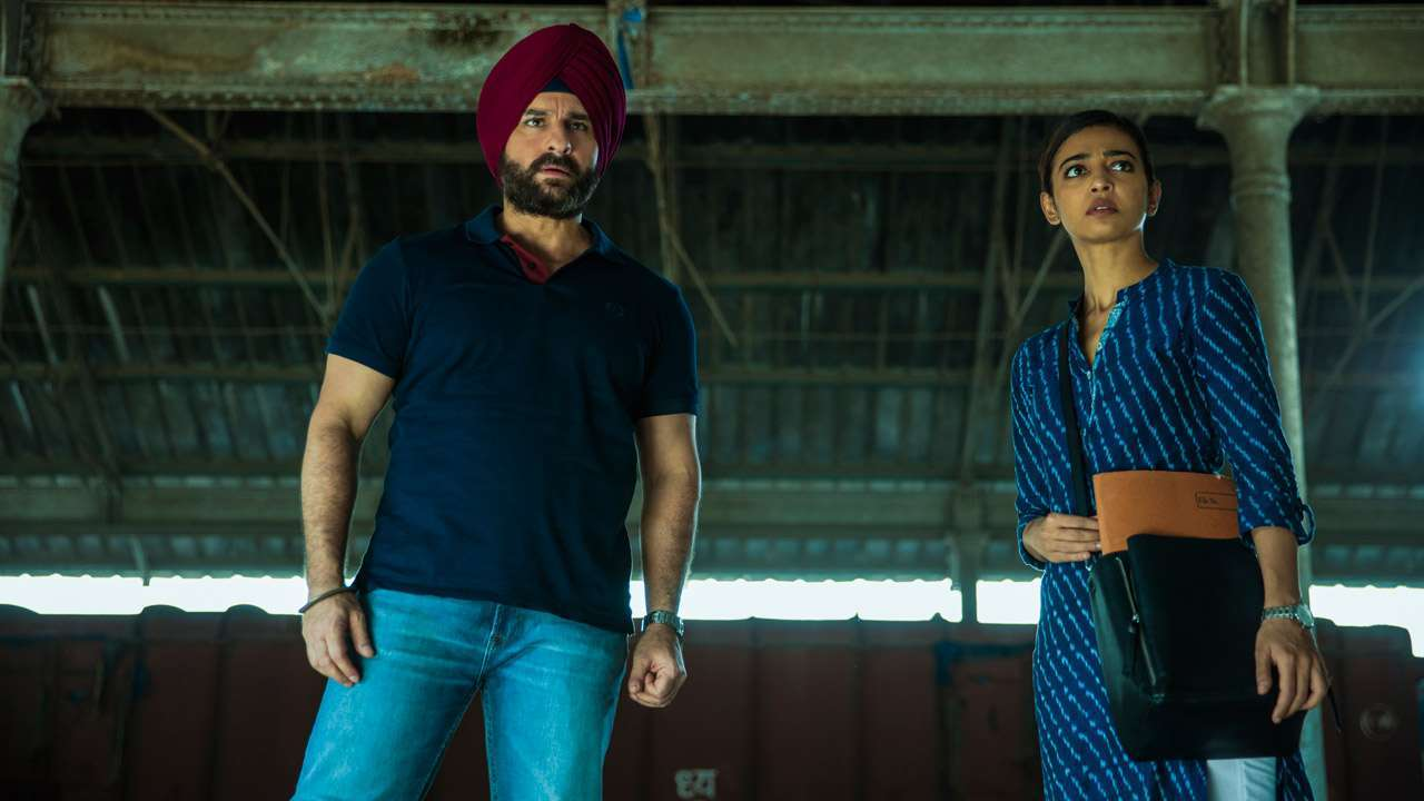 Sacred Games Saif Ali Khan and Radhika Apte