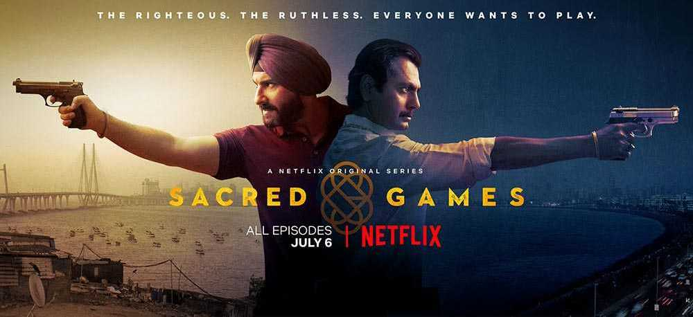 Saif Ali Khan and Nawazuddin Siddiqui in Sacred Games Reveiws and Ratings